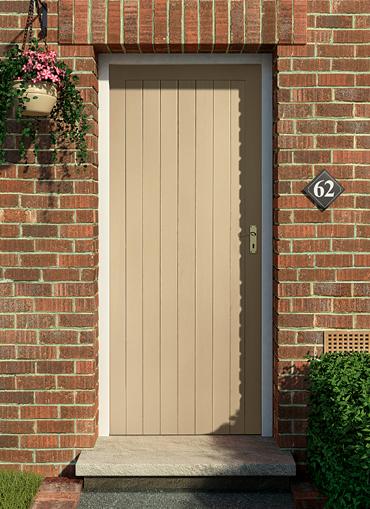 Homeserve securityhardwood doors external doors for Wooden exterior back doors