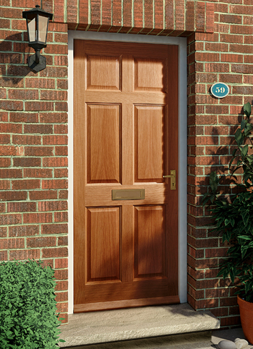 Homeserve securityhardwood doors external doors for External wooden front doors