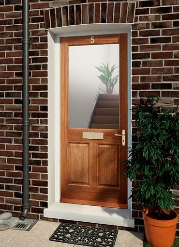 Steeton MT Pre-Glazed Door