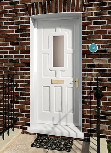 Warwick Pre-glazed Hardwood External Door