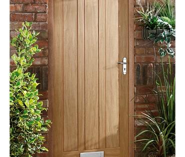 Delamere Oak Panel