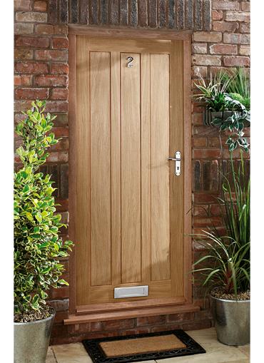 Homeserve Securityoak External Doors Oak Doors Front Doors